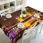 Traffic Light 3d Tablecloth Table Cover Cloth Rectangle Wedding Party Banquet