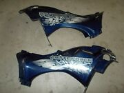 2010 Kawasaki Brute Force 750 Left Right Engine Motor Side Panels Shields Guards