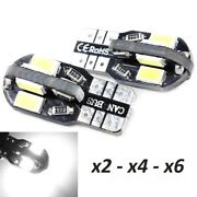 Bombillas T10. Led Canbus 8smd 5630 5w5 Dc12v Ce Rohs.