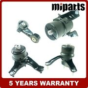 4pcs Engine Motor And Trans. Mount Kits Fit For Toyota Camry 3.0l 2002-2006