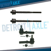 Inner And Outer Tierod End Set For 2004 2005 Chevy Colorado Gmc Canyon - Torsion
