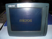 Micros Workstation 4 System Unit Pos Touchscreen Windows Ce .net 4.2 Wall Mount