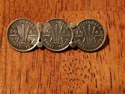 Sterling Silver Australia 1943 Three-pence Silver Coin Pin