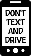 Donand039t Text And Drive One Color Decal Window Safe Teen Driver Bumper Sticker Car