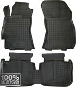 Rubber Carmats For Subaru Outback 2009-14 All Weather Fully Tailored Floor Mats
