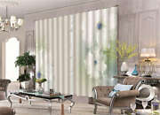 Transparent Petals 3d Curtain Blockout Photo Printing Curtains Drape Fabric