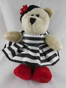 Starbucks 2013 Alice And Olivia Bearista Bear Plush Collectible Stacy Bendet Cute