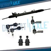 Power Steering Rack And Pinion Sway Bar Tierod Kit For 2004 2005 Ford F-150 2wd