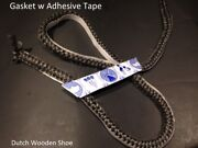 5/16 Round Adhesive Backed 100and039 Feet Gasket Rope Tape Wood Stove Pellet Door
