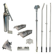 Pro Platinum Drywall Tools Finishing Set Of W/ 8 And 10 Flat Boxes