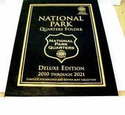 2012 To 2014 - 32 Quarters National Parks In Delux Whitman And 3 Small Albums