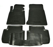 Rubber Carmats For Bmw E46 2001-2006 3 Ser All Weather Floor Mats Fully Tailored