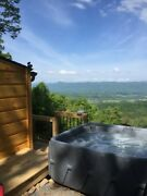 Virginia Blue Ridge Mountain Cabin With Hot Tub And Views Of The Shenandoah Valley