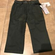 Dolce And Gabanna Dandg Olive Green Kaki Jeans Pants New W/ Tag 2t