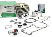 Meteor Cylinder Piston Kit For Husqvarna 61 Kit 48mm With Gaskets And Oil Seals
