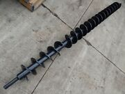 Auger Drill Attachment Extra Long Heavy Duty Auger Extension 91and1/2 L 6and1/2 W