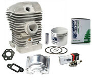 Meteor Nikasil Cylinder Kit For Stihl 025 023 Ms250 Ms230 Chainsaws 42.5mm Italy