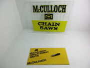New Mcculloch Sp125 Chainsaw Kart Mc 101 91 90 100 5 6 10 Compression Release