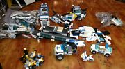Lego City Random Pieces From Different Sets Police Vehicles And Station Parts