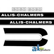 Ac6060 New Hood Decal Replacement For Allis Chalmers 6060 Ac Tractor