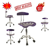 Tractor Seat Bar Stool Drafting Table Extra Tall Chair Adjustable Height Seat/
