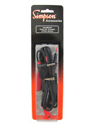 Threaded Probe Leads W/banana Plugs And Screw-on Alligator Clips - Simpson 00125