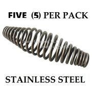 Five Pk 5 Stainless Steel Spring Handle Bbq Smoker Grill Pit Wood Furnace Stove
