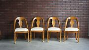 Dining Side Chairs Neo Classic Dining Chairs By Karges Set Of 4