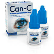 Can-c Eye Drops With N-acetylcarnosine 2 X 5 Ml Vials Ships From East Coast