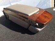 Bmw E66 2 Tone Rear Center Armrest Seat Control Heat Ac Mover Switch Wood Oem