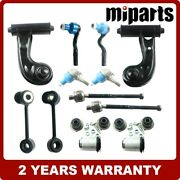 F Control Arm Ball Joint Sway Bar Tie Rod Set Fit For Mercedes W210 E300 E320