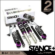 Stance+ Ultra Coilover Suspension Kit Skoda Fabia 6y All Engines
