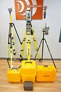 Trimble Is Solution S8 Robotic Total Station And R10 Gps Gnss Rtk Set Tsc3 Tbc