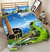 Holy Music Land 3d Printing Duvet Quilt Doona Covers Pillow Case Bedding Sets