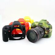 Soft Silicone Rubber Case Cover Body Protector Skin For Canon 5d Iv 5d4 Camera