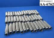 """Mdc Stainless Steel Vacuum Flex Bellows Pipe Tubing 5-6"""" Lot Of 43 Mks Used"""