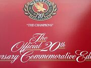 Nascar Official 20th Anniversary The Champions Commemorative Collection