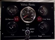 Replacement Volvo Penta Boat Instrument Panel Custom Made For You 12 / 24 Volt