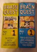 Brain Quest - Grade 1 - Reading And Math - New In Box - Sealed.