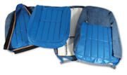 1968 Corvette Seat Covers Leather Complete Set Any Factory Color C3 New