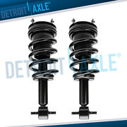 2 Front Strut And Coil Spring For 2007-2013 Gmc Sierra 1500 Chevy Silverado 1500