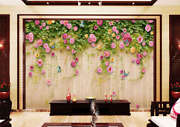 Spring Outside The Wall 3d Full Wall Mural Photo Wallpaper Print Home Kids Decor