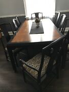 Andnbspdining Set With Matching Hutch And Bar/server Andnbsp 11pieces Andnbsp Andnbsp By Century