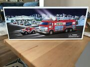 2005 Hess Truck Emergency Fire Truck With Rescue Vehicle - Nib