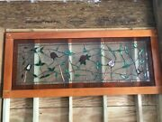 Stained Glass Panel Custom Made