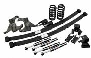1973-87 Chevy C10 Suspension Lowering Kit Complete 5.5 X 7 Drop