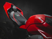 Veloce Motorcycle Rider And Passenger Seat Covers Ducati Panigale V4 18-20 Luimoto