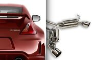 Ark Performance Dts Exhaust System W/ Polished Tips For 09+ Nissan 370z