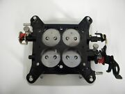 Holley-qft-aed Ccs Billet Blow-thru Base Plate Assembly 1 3/4 850-1050 Cfm