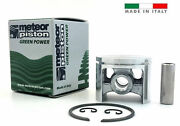 Meteor Piston Kit For Husqvarna 254 254xp 45mm With Ring Italy 503 50 37-01